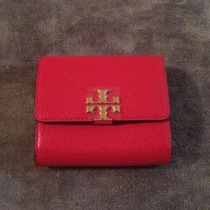 Small Red Tory Burch Wallet